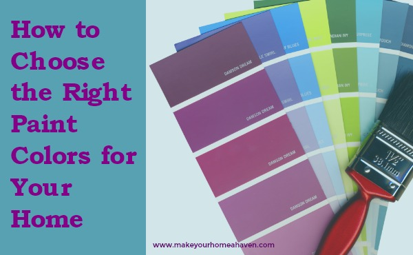 How to Choose the Correct Paint Color for Your Home