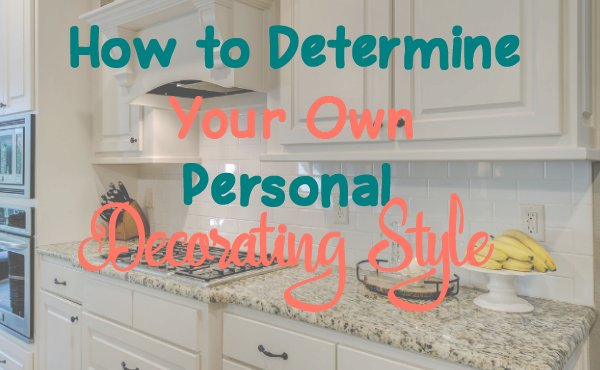 Determining Your Personal Design Style